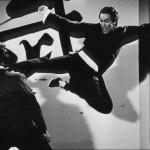 classic flying kick