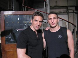 With Gary Daniels