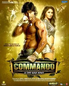Commando (2013) poster