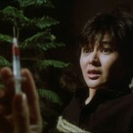 Rosamund Kwan gets brainwashed by the evil cult...