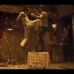 Jumping knee-attack!