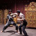 Sword sparring!