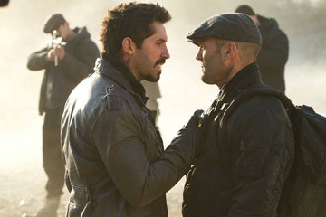 Scott Adkins and Jason Statham - Expendables 2