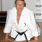 Dolph is also a 3rd dan black belt