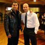 Silvio Simac and Jason Statham