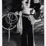 Dressed as a Gaucho during his trips to America in the 1930s