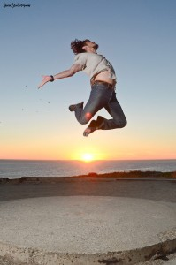 Leap for freedom!