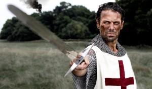 Cengiz plays a Knight in Galahad