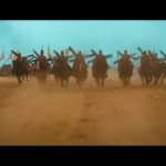 The cavalry make their charge
