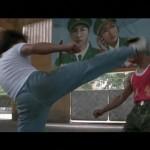 Comrade Wang is countered by Ka Kui's kickboxing