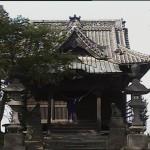 Kimura at the temple