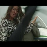 Yang kicks Chaibat in the head!