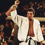 Royce Gracie triumphs at the UFC