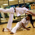 Capoeira has some unique evasive techniques