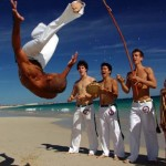 Music, rhythm and dance go together in  Capoeira!