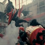 A street lion dance is cover for an ambush