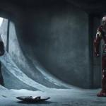 Cap and Iron Man face off