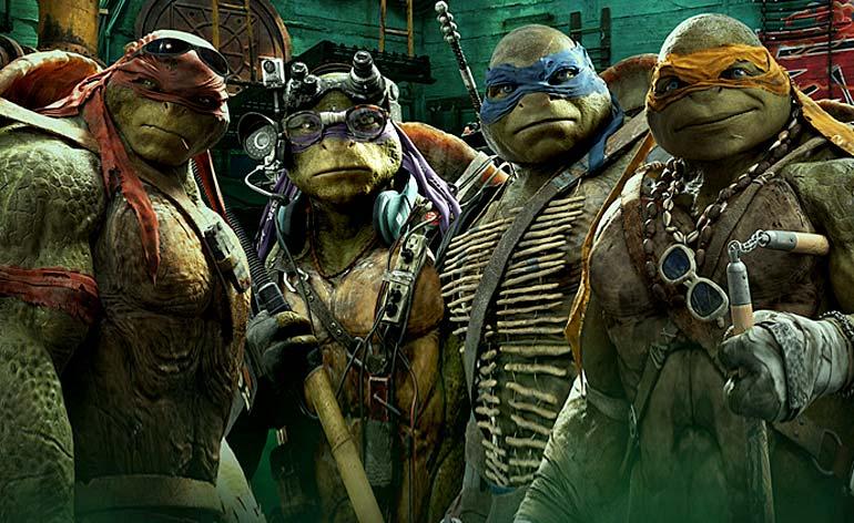 Teenage Mutant Ninja Turtles: Out of the Shadows - Kung Fu Kingdom