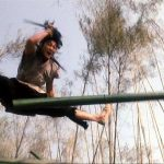 Andy Lau demonstrates great agility and flexibility