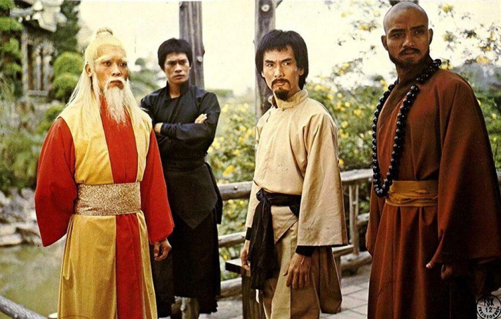 Gold Fox (Hwang Jang-lee) plots revenge with his cohorts