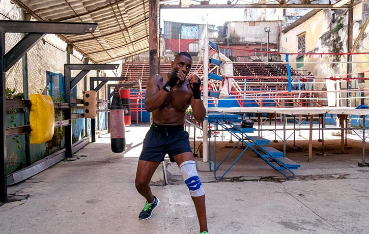 Training in Cuba helps Idris with his movement