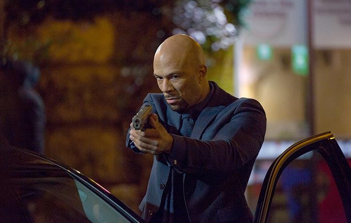 Common proves to be Keanu's equal when it comes to delivering the ruff stuff