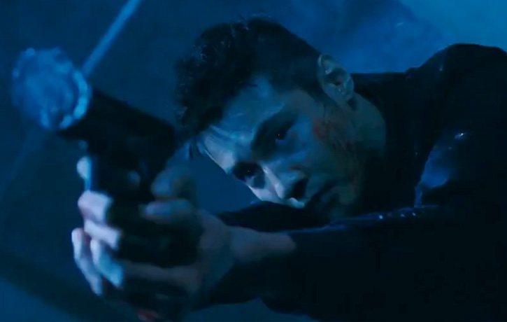 Gunning through bulletproofed windows