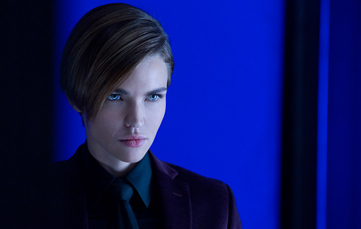 Ruby Rose as the cold blooded Ares
