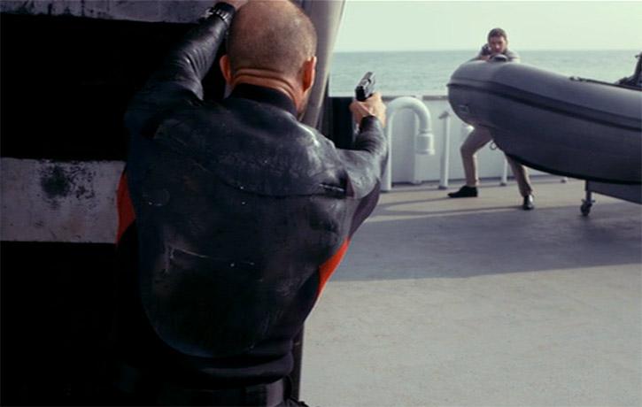 Excellent gun-fu!