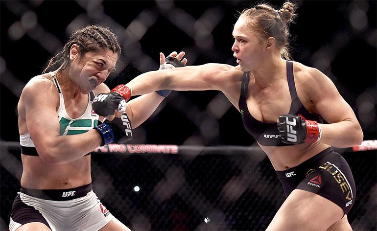 Top 5 MMA Finishes – Ronda Rousey - Kung-Fu Kingdom