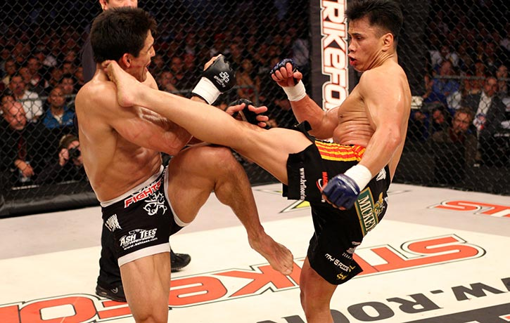 Cung's epic fight with Frank Shamrock