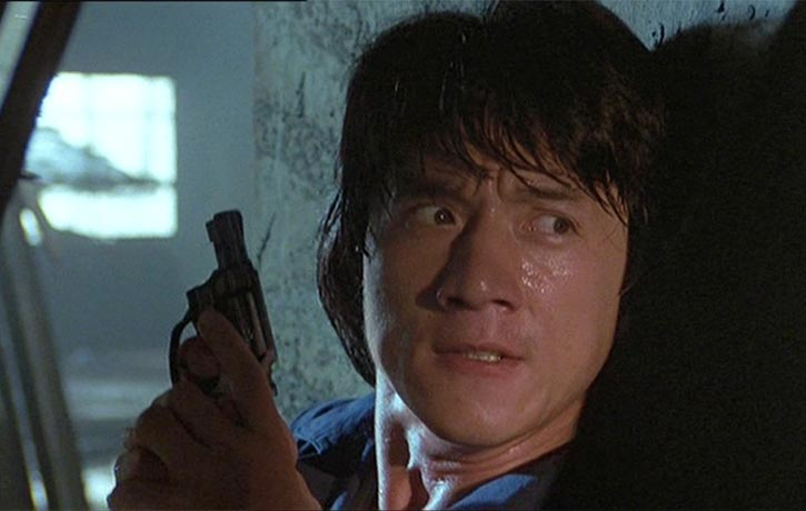Jackie Chan stars as tough cop Ted