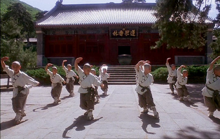 Shaolin Style Kung Fu Form