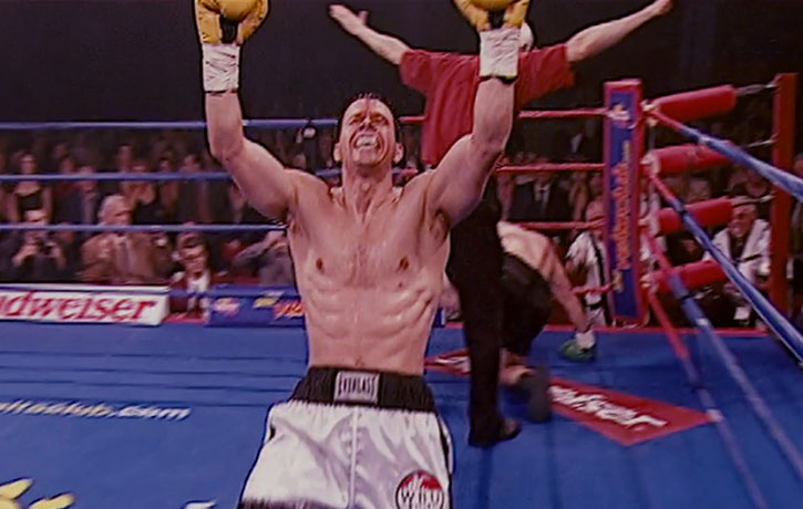 Ward victorious in his biggest bout ever