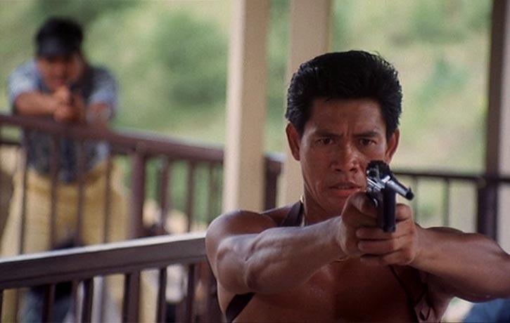 Phillip Ko-Fei plays heroin trafficker Poison Snake Ping