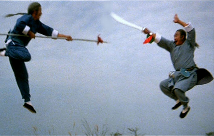 This film stands out with superb weapons choreography