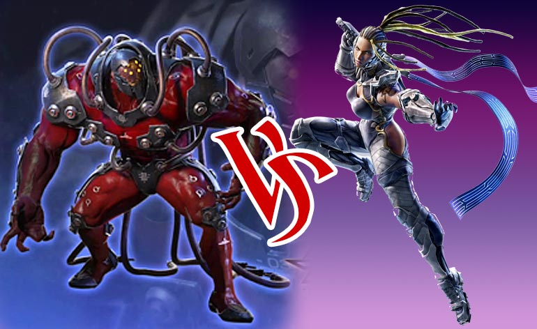 Tekken 7: Tale of the Tape – Gigas vs Master Raven - Kung Fu Kingdom