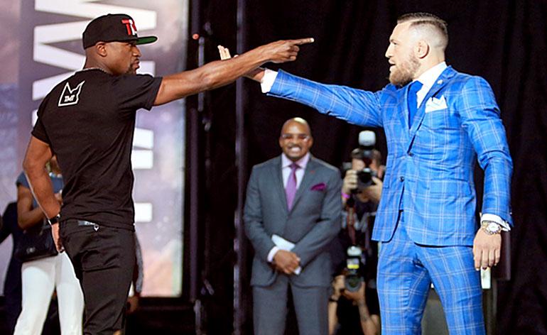 The Money Fight: Floyd Mayweather vs Conor McGregor - Kung Fu Kingdom