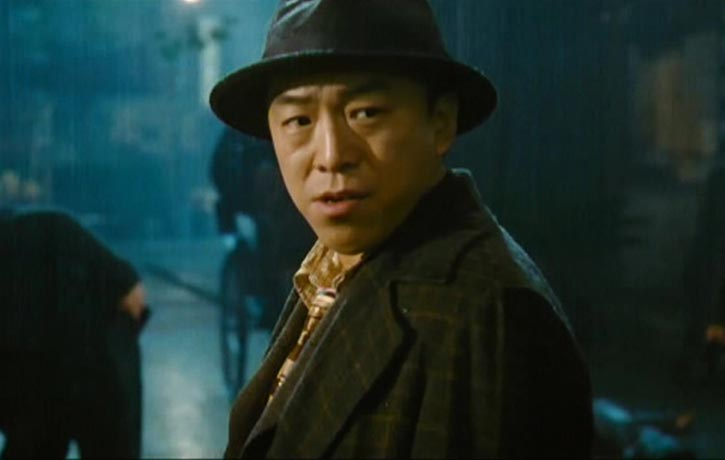 Huang Bo as the frustrated Inspector Huang Haolong