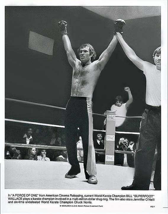 Bill claims another victory in the ring!