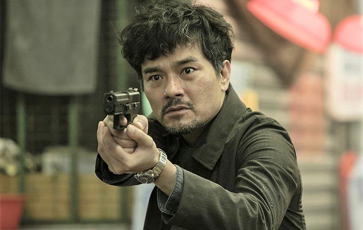 Gordon Lam Ka-tung plays Chan, Cheng's superior