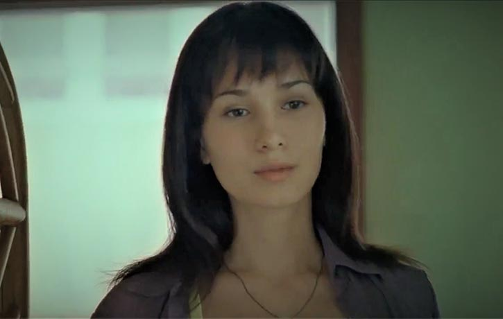 Celina Jade plays Hiu Wor (Holly)
