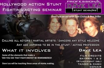 Dave Lea Stunt Seminar!