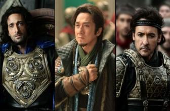 Jackie Chan's Dragon Blade begins!