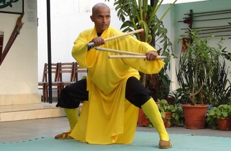 Shifu Sharma demonstrating Duanda