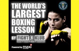 World's Largest Boxing Class at SENI 2014!