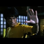 Bruce Lee Lee measures it up..