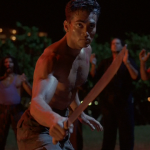 Mark Dacascos A bladed duel Only The Strong