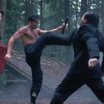 Mark Dacascos A graceful kick...