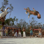 Mark Dacascos Air Mark Dacascos Capoeira moves in Only The Strong